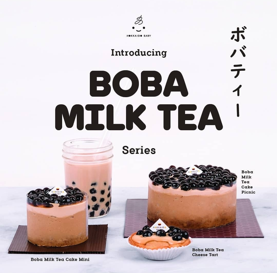 Kue Boba Milk Tea