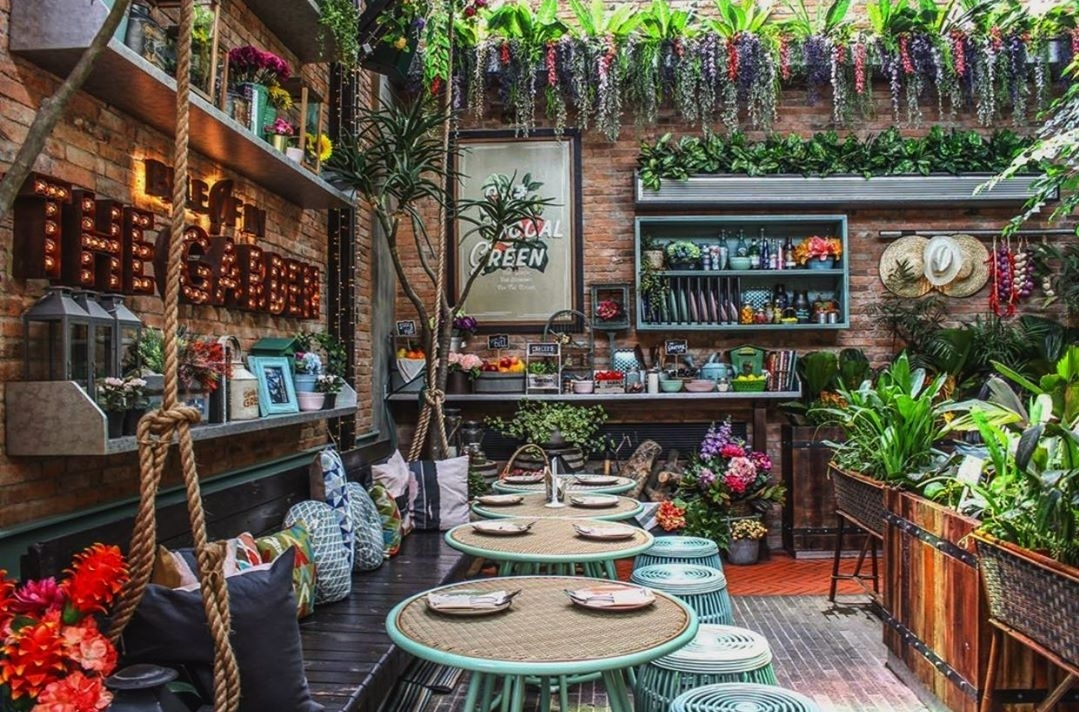 Tempat Hangout Instagrammable : The Garden